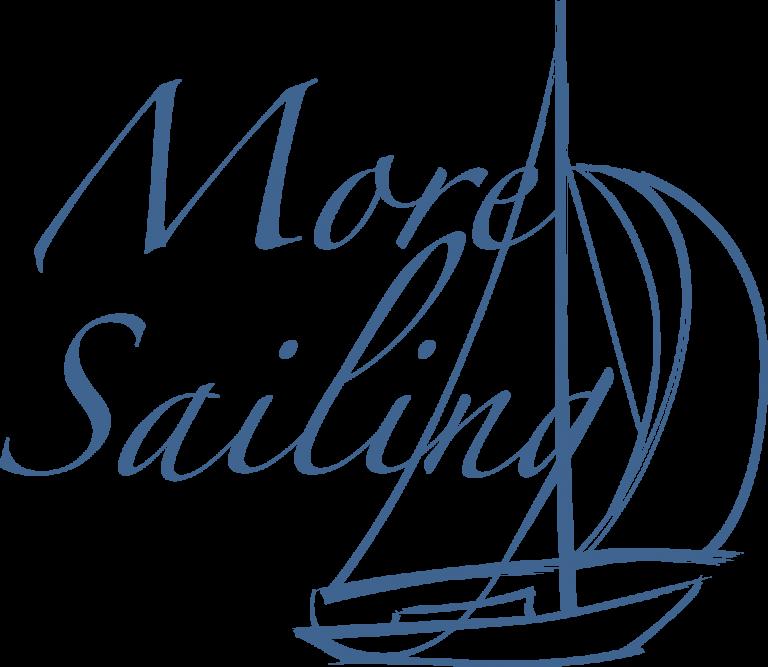 More sailing blå logo